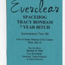 Everclear Spacehog Tracey Bonham 7 Year Bitch 1996 Summerland Tour Promo Concert Handbill
