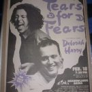 Tears for Fears 1990 Meadowlands Full Page Newspaper Concert AD 10x15