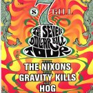 The Nixons Gravity Kills Hog 1996 Concert Tour Handbill Poster