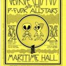 George Clinton P-Funk Allstars 1996 Maritime SF Concert Handbill