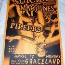 The Suicide Machines The Pilfers 2000 Graceland Seattle Concert Poster