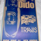 DIDO TRAVIS 2001 Seattle Concert Poster