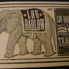 Lou Barlow 2000 Tractor Tavern Concert Poster 11x17