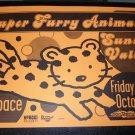Super Furry Animals 1999 Aro Space Concert Poster 11x17