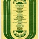 Zappa Mothers Ten Years After Amboy Dukes 1969 Fillmore East Concert Handbill