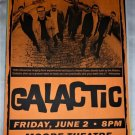 Galactic 2000 Moore Theatre Seattle Concert Poster