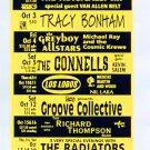 The Tragically Hip Suzanne Vega 1996 Irving Plaza NYC Concert Handbill