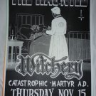 The Haunted 2001 Graceland Seattle Concert Poster