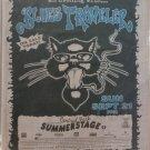 BLUES TRAVELER 1997 Central Park NYC Newspaper Concert Poster AD