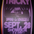 TRICKY 1999 Showbox Seattle Concert Poster 11x17