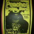 The Peaches 1999 Graceland Seattle Concert Poster 11x17