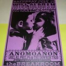 WILL OLDHAM Anomoanon 1999 Seattle Concert Poster 11x17