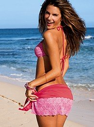Lacy cover-up sarong