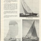 1965 A. LeComte Co. Inc Sailboats Ad-Medalist- Northeast 38- 52' Racer