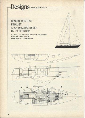 1977 Robert Derecktor 50' Racer/ Cruiser Boat Review & Specs