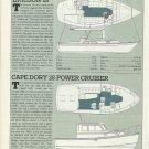 1985 Ericson 28 & Cape Dory 28 New Boats Reviews & Specs