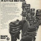 1977 Mercury Motors Ad- The Black Max Outboard motors