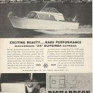 1959 Richardson Boat Co. Ad- The 24' Superba Express
