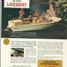 1966 Larson Boats Color Ad- The 16' Medallion