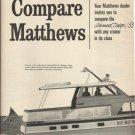 1966 Matthews Yacht 2 Pg Ad- The Advanced Design/ 53