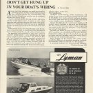 1971 Lyman Boat Works Ad- 23' Runabout & 35 Sea Hawk