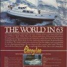 1984 Cheoy Lee Shipyards Color Ad- 63' Motor Yacht Sailer
