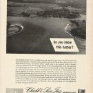 1964 Chubb & Son Insurance Ad-Great Aerial Photo of Queenstown Maryland