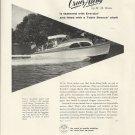 1955 Anaconda Brass Company Ad- Cruis Along 22 Boat
