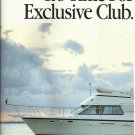 1988 Hatteras Yachts 2 Page Color Ad- The 40' Double Cabin