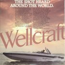 1984 Wellcraft Marine Corp Color Ad- The Excaliber