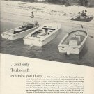 1961 Buehler Turbocraft Ad- Turbocraft Jet Boats