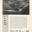 1961 Chubb & Son Insurance Ad-Great Aerial Photo of Little Wicomico Potomac River
