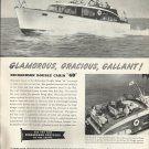 1953 Richardson Boat Co. Ad- The Double Cabin 40'
