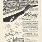 1949 Bahia Mar Marina Fort Lauderdale Florida Ad