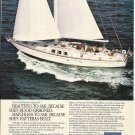 1984 AMF Hatteras Yacht Color Ad- The Hatteras 65'