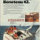 1983 Beneteau USA LTD Color Ad- The Beneteau 42- Specs