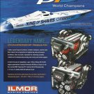 2008 Ilmor Marine Engines Color Ad Featuring Fountain Powerboat