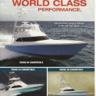 2008 Viking Yachts Color Ad- The 60- 54 & 50' Convertible
