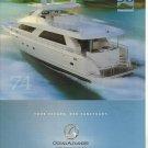 2008 Ocean Alexander Yacht Color Ad- The Ocean 74
