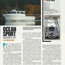 2011 Ocean Sport Roamer 30 Yacht Review & Specs- Photo