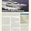 2008 Horizon 97 Raised Pilothouse Yacht Review 7 Specs- Photo