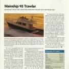 2008 Mainship 45 Trawler Yacht Review & Specs- Photo