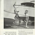 1958 Douglas Fir Plywood 2 Pg Ad -Chris- Craft Cavalier Boat