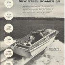 1957 Roamer Steel Boats Ad- The Roamer 35