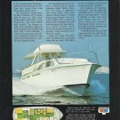 1969 Pacemaker Yachts Color Ad- The 43' Motor Yacht