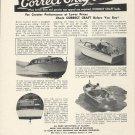 1949 Correct Craft Boats Inc Ad- 27' Sedan-27 Fisherman-15 JR.