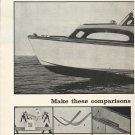 1956 Higgins Boats 2 Page Ad- The Higgins 30' Cabin Cruiser