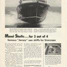1956 International Nickel Co Ad Featuring Ulrichsen 26' Express Cruiser