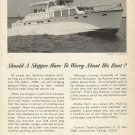 1966 Huckins Yacht Corp Ad- The Linwood 53