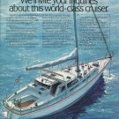 1980 C & C Yachts Color Ad- The Landfall 48